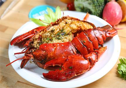 Roast lobster